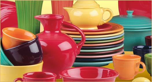 Fiestaware dishes