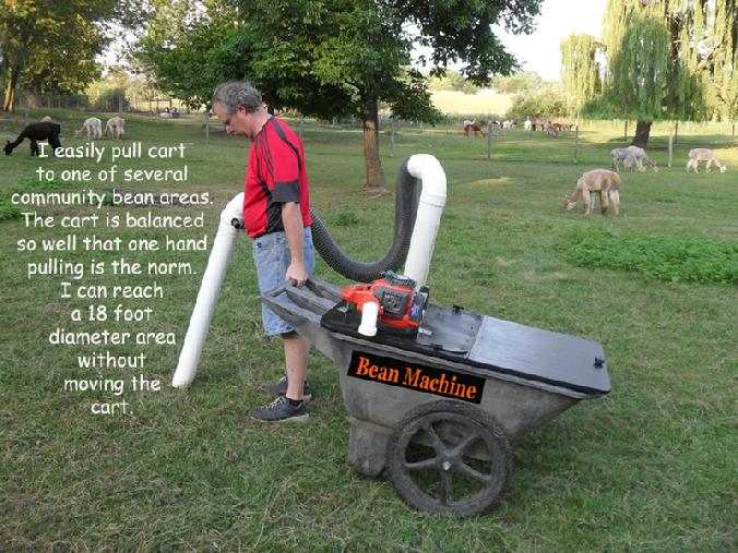 Pasture Vac Bean Machine